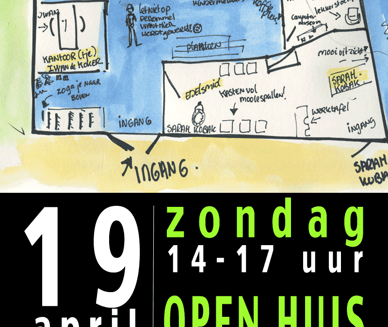 Open (Pak)Huis op 19 april as